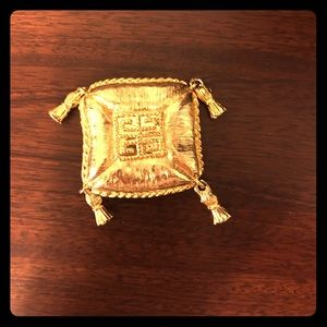 Givenchy Jewelry - Authentic gold-tone Givenchy pin brooch.